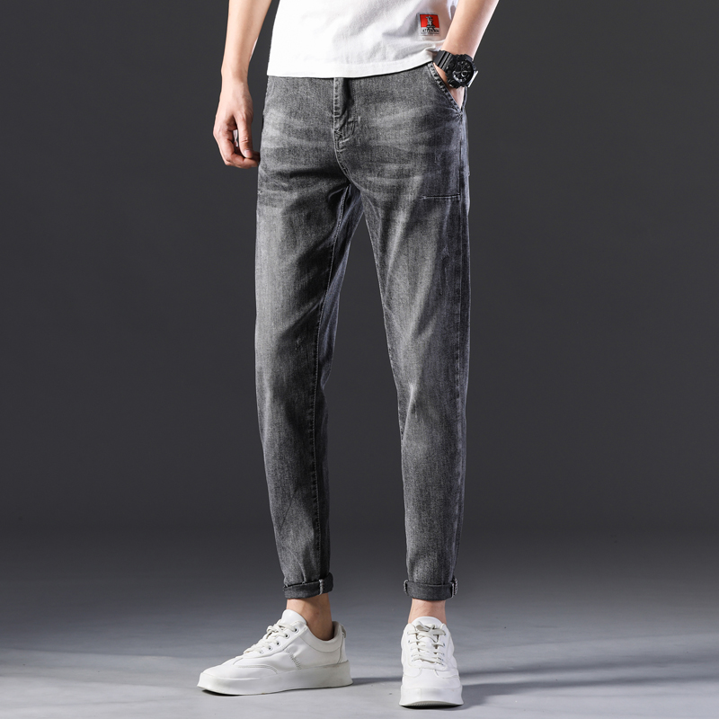 KSTUN Stretch Jeans Men Skinny Gray 2020 New Arrivals Man Long Trousers Slim Fit Cowboys Mens Jeans Fashion Designer Tapered 12