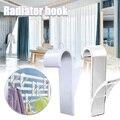 Вешалка для полотенец с подогревом, радиатор, направляющая, крючок для ванной, держатель, вешалка для одежды, вешалка для шарфов, крючок-веша...