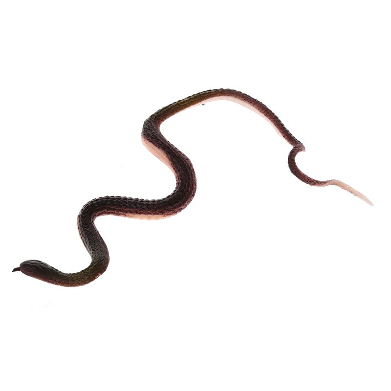 Novelty Trick Toys Simulation Snake Whimsy Rubber Small Snakes Q6PD