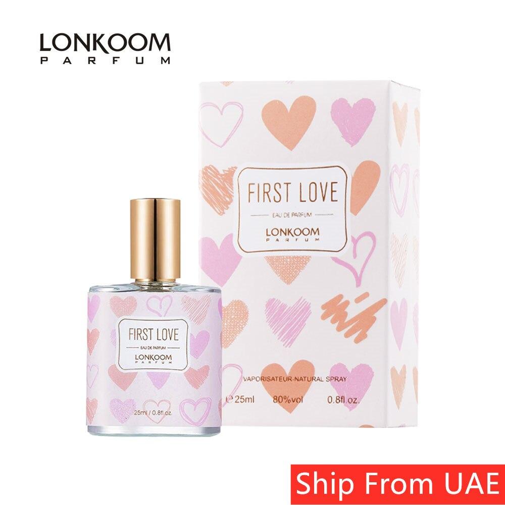 LONKOOM Perfume Sweet-Fruity Scent Eau De Parfum Women's Fragrance Travel Size Antibacterial Spray 25ML-FIRST LOVE Fragrance