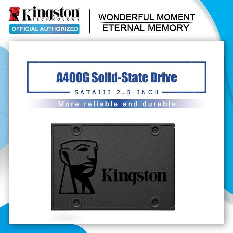 Внутренний жесткий диск Kingston A400 SSD 120 ГБ 240 ГБ 480 ТБ sata жесткий диск ssd Hyperx 8 ГБ 16 ГБ 32 ГБ ddr4 2666 МГц Память ОЗУ для настольного компьютера