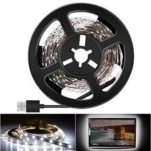 LED Strip USB 5V 2835SMD Night Lamp 50CM 1M 2M 3M 4M 5M Tiras Led Lights For Kitchen Bedroom Home Cabinet TV Lighting Bias