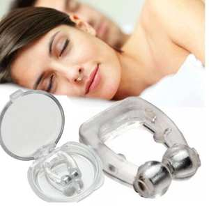 Clip-Aid Nase Anti-Snoring Silicone for Sleeping-Snore-Stopper 1pcs Nose-Clips Magnetic