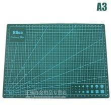 Купить с кэшбэком a3 cutting mat cutting board paper pad sculpture dianban introduction blades 30x45cm estera de corte