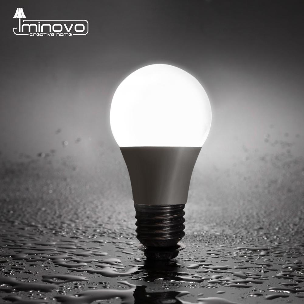 Bombilla LED E27 E14 3W 5W 6W 7W 9W 12W 15W 18W foco hogar lámpara de mesa AC 220V 230V 240V mini bombilla LED halógena de recambio iluminación interior Lámpara LED de noche con Sensor de movimiento PIR, lámpara LED de noche, lámpara de techo para sala de estar