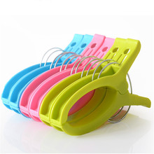 16x2.4cm 4 Packs Large Clothespin Spring Clip Color Plastic Clothes Quilt Household Daily Use 16x2 4cm 4 packs large clothespin spring clip color plastic clothes quilt household daily use