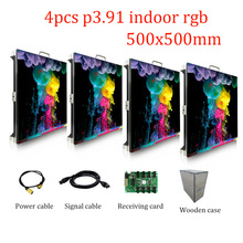 led display screen p3.91 indoor smd full color stage led video wall