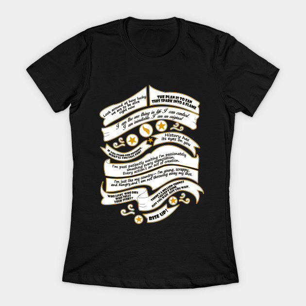 Hamilton Musical Quote Women's T-Shirt image