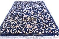 cover carpet luxury carpet European savonery Floral Trellis Design Circular Household Decorates