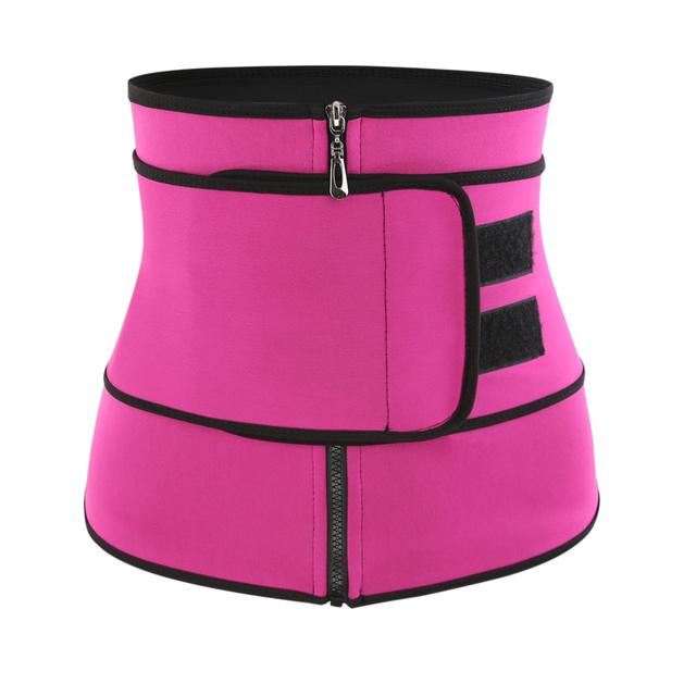 Waist Trainer Thermo Belt Sweat Waist Trainer Girdle Corset Women Tummy Body Shaper Shapewear Fat Burning Fitness Modeling Strap 2