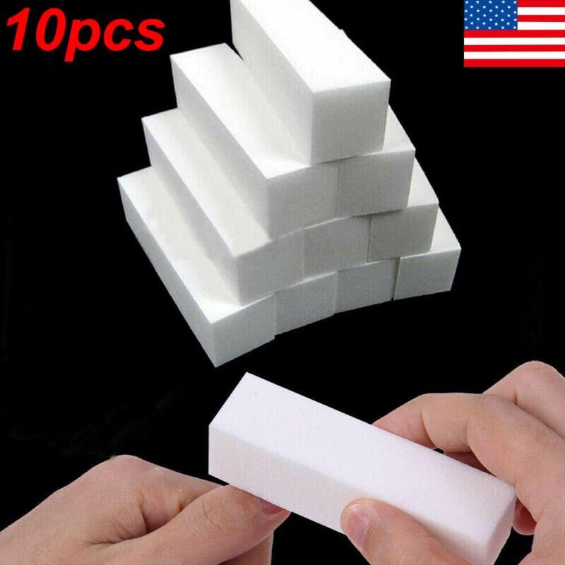10Pcs Buffing Buffer Block Files Acrylic Pedicure Sanding Manicure Nail Art Tips(China)