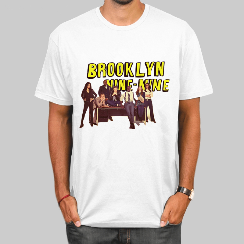 Brooklyn Nine Nine Brooklyn 99 T Shirt New Avatar T-Shirts Casual Clothing Summer Style Graphic Tops Tees