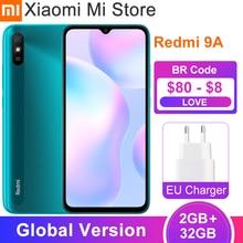 Xiaomi – téléphone portable Redmi 9A, Version globale, 2 go de RAM 32 go de ROM, MTK Helio G25 Octa Core, 2020 pouces, 6.53 mAh, caméra 13mp, nouveau, 5000