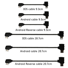 Data Cable OTG Remote Controller to Phone Tablet Connector Micro USB Type-C IOS Extend Cable for DJI Mavic MINI Pro Air Mavic 2