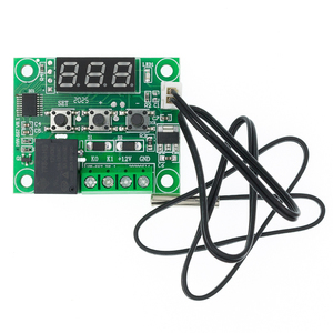 Image 5 - 20PCS W1209 DC 12V חום מגניב טמפ מתג בקרת טמפרטורת בקר טמפרטורת מדחום thermo בקר