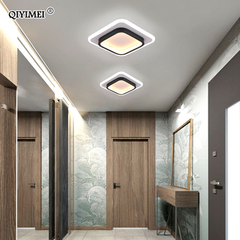 Modern LED Ceiling Lights Round Square Lighting For Bedroom Kitchen Aisle Corridor Indoor Lamps Fixtures Lustres Lampadari Dero