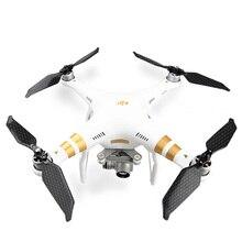 ل DJI فانتوم 3 9455 الذاتي قفل طوي المروحة منخفضة الضوضاء كامل ألياف الكربون المراوح بليد الدعامة ل DJI فانتوم 2 1