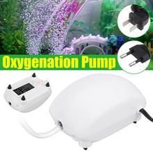 Ультра низкий уровень шума аквариумный воздушный насос мини компрессор для аквариума кислородный насос аквариумный аквариум кислородный насос