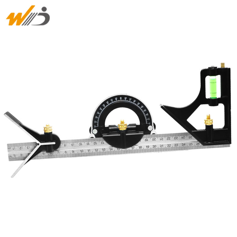 New 300 Mm Stainless Steel Protractor Multi-function Angle Ruler Multi Combination Square Angle Finder Angle Gauge Tool