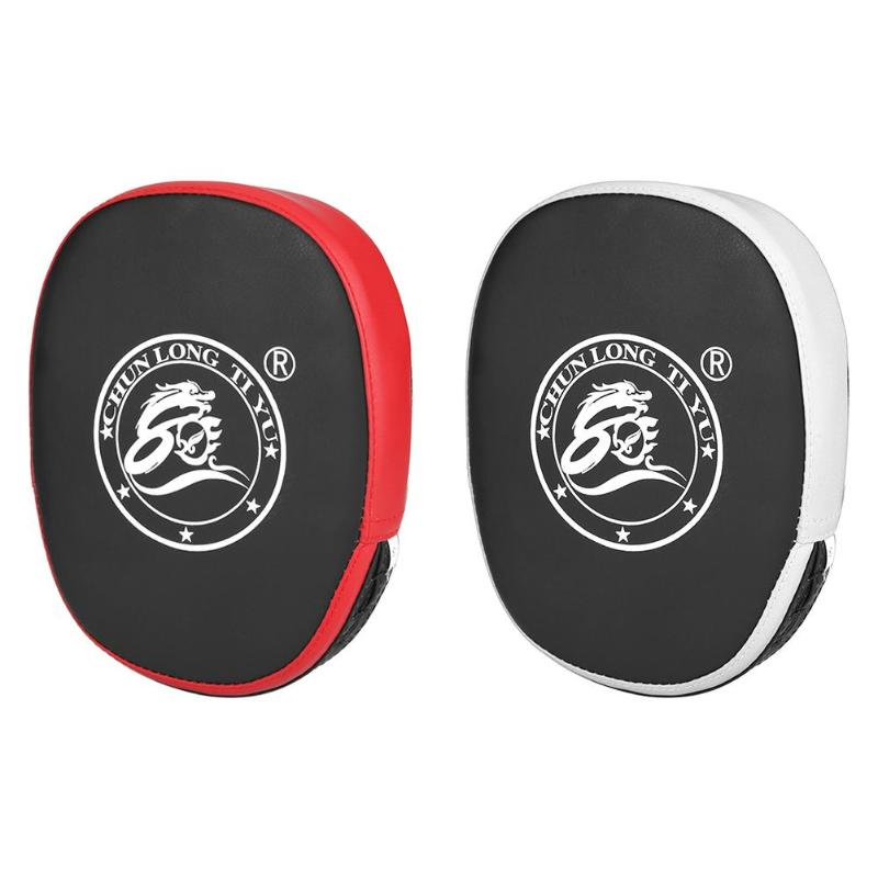 1pc Boxing Boxer Children Curved Foot Target Martial Arts Sanda Training Taekwondo Hand Target Fitness Equipment