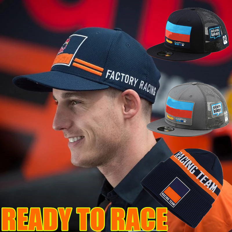 Newest Factory Racing Moto GP Cap Top Motorcycle Snapback Motocross Hat mx atv snapback racing ream cap mask image