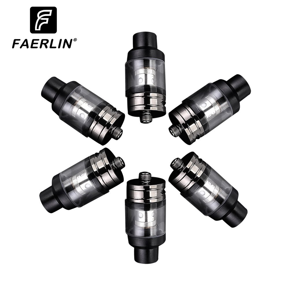 Faerlin Atomizer Vape Tank 2ml  22mm  Electronic Smoke Coil Spare Glass  For Big Vape Electronic Cigarette Vape Mod 40-120W