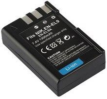Pack de batteries rechargeables au Lithium-Ion, pour Nikon EN-EL9, ENEL9, EN-EL9a, ENEL9a, EN-EL9e, ENEL9e