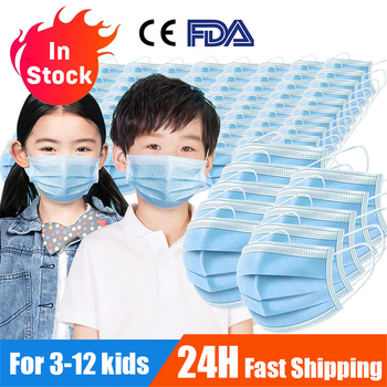 Medical Surgical Mask Child Disposable Protective Face Mask 3 Layer For Protection Mouth Masks Kids