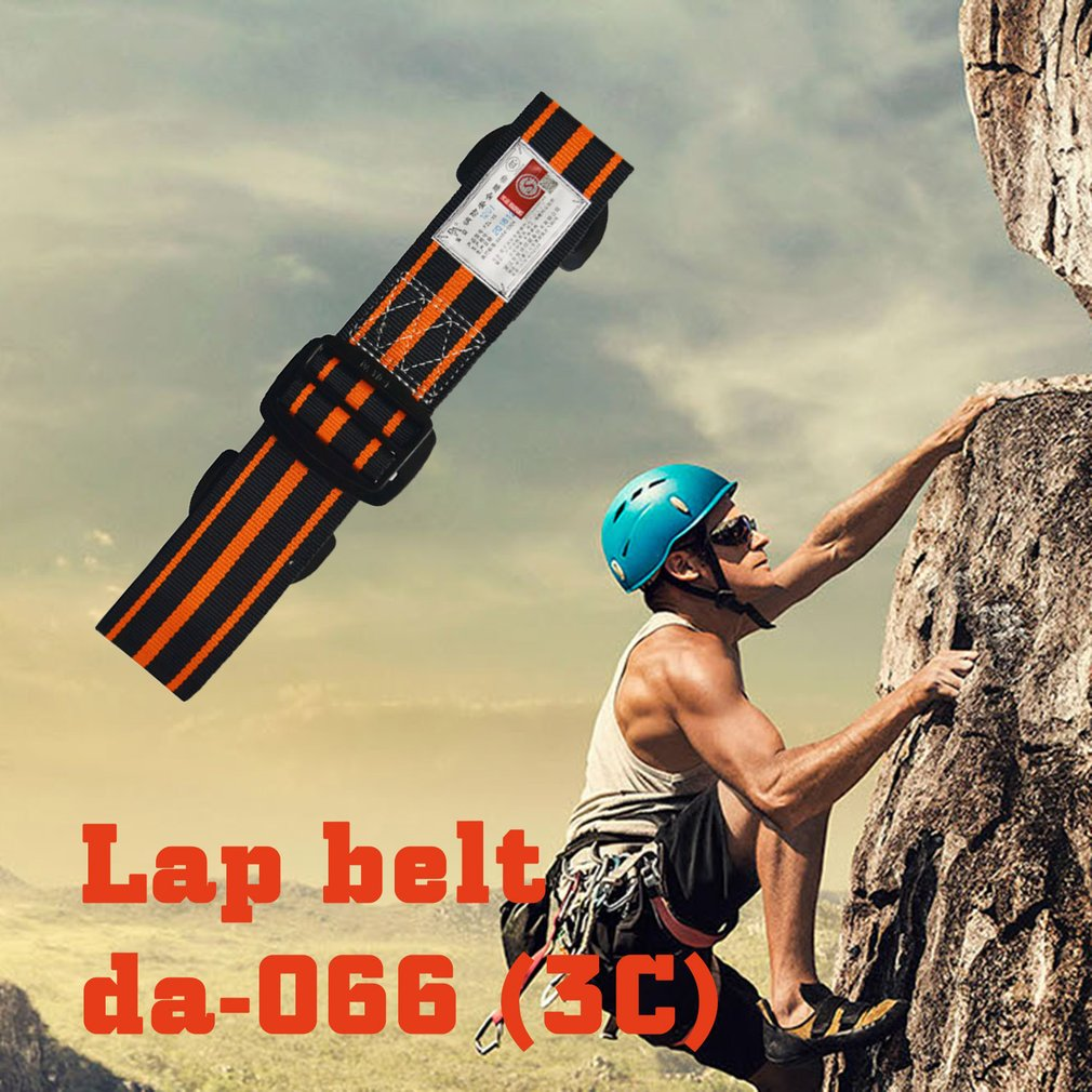 Fire Safety Waist Belt Firewaist Strap Harness Safety Waist Climbing Self-Rescue Life-Saving Waist Safty Belt
