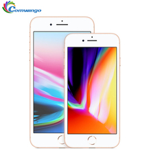 Apple iphone 8, iphone 8 plus, 2 Гб ОЗУ, 64 ГБ/256 ГБ, шестиядерный процессор, IOS, 3D Touch ID, LTE, 4,7 МП камера, дюймов, Apple, отпечаток пальца
