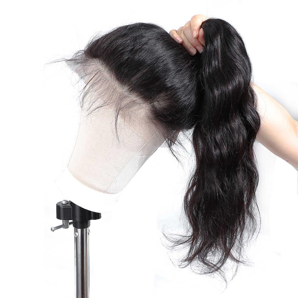 موبوك البرازيلي الجسم موجة الدانتيل شعر مستعار أمامي ريمي الإنسان خصلات الشعر المستعار 13X4 الدانتيل الباروكة أمامي 360 الدانتيل الباروكة أمامي قبل قطعها شعري