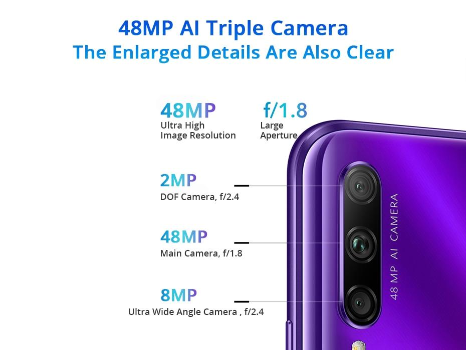 Honor 9X Pro 8GB 128GB 256GB Kirin 810 Liquid Cool Smartphone 48MP Triple Camera 6.59 Auto Pop Up Camera cellphone (7)