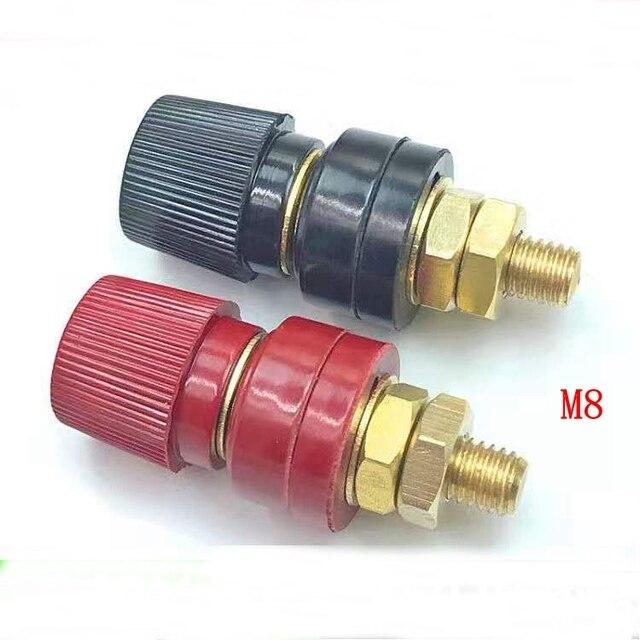 M5M6/m8/M10 miedź Post 5mm6mm/8mm/10mm Regulator spawacz Terminal Post klip zacisk śruba miedzi