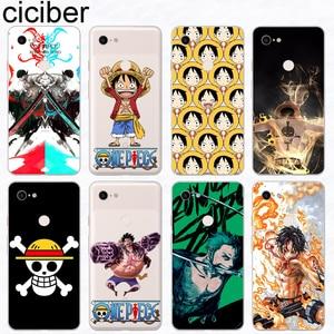 Image 1 - Цельные чехлы для телефонов ciciber Anime, чехол для Google Pixel 3 2 XL, мягкий силиконовый чехол из ТПУ для Google Pixel 3XL 2XL, оболочка, Capinha