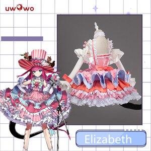 Image 2 - Kader büyük sipariş FGO Cosplay kostüm cesur Elizabeth Bathory sahne ejderha Cosplay kostüm kadın parti elbise dans kıyafetleri