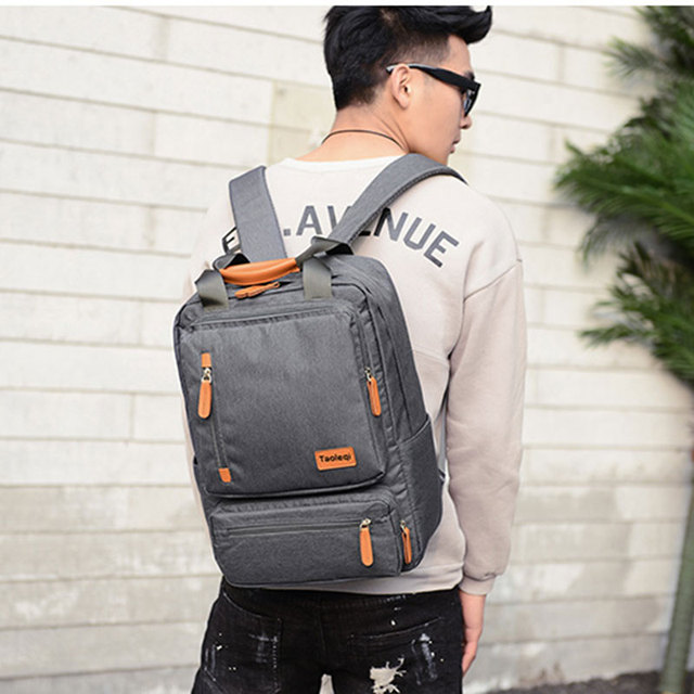 Casual Business Men Computer Backpack Light 15 inch Laptop Bag 2020 Waterproof Oxford cloth Lady Anti   Calm and Carry On