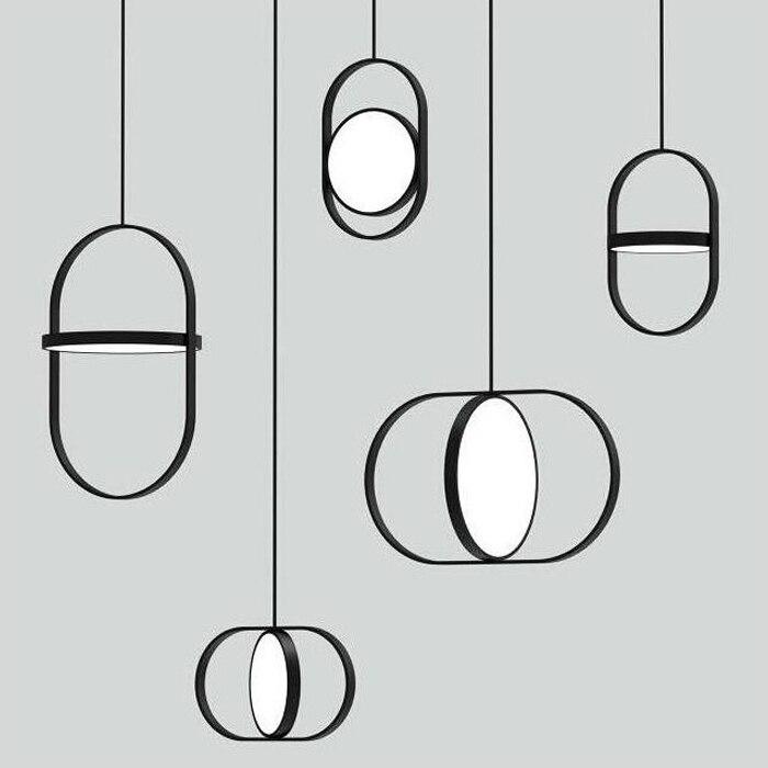 Nordic Led Pendant Light Lamp Avize Colorful Hanglamp Restaurant Kitchen Light Suspension Luminaire Home Industrial Lighting Ing