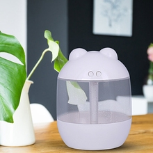 700Ml Mini USB Air Humidifier Aroma Diffuser Change LED Evaporator Car Essential