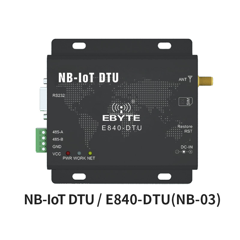 RS232 RS485 NB-IoT B5 Frequency Wireless Modem 23dBm IoT E840-DTU(NB-03) Data Transceiver Transmission Module