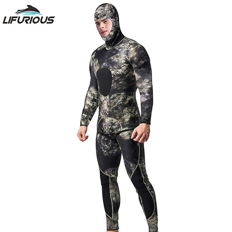 3mm néoprène combinaisons hommes équipement de plongée une pièce maillot de bain professionnel multicolore surf plongée vêtements combinaison de plongée