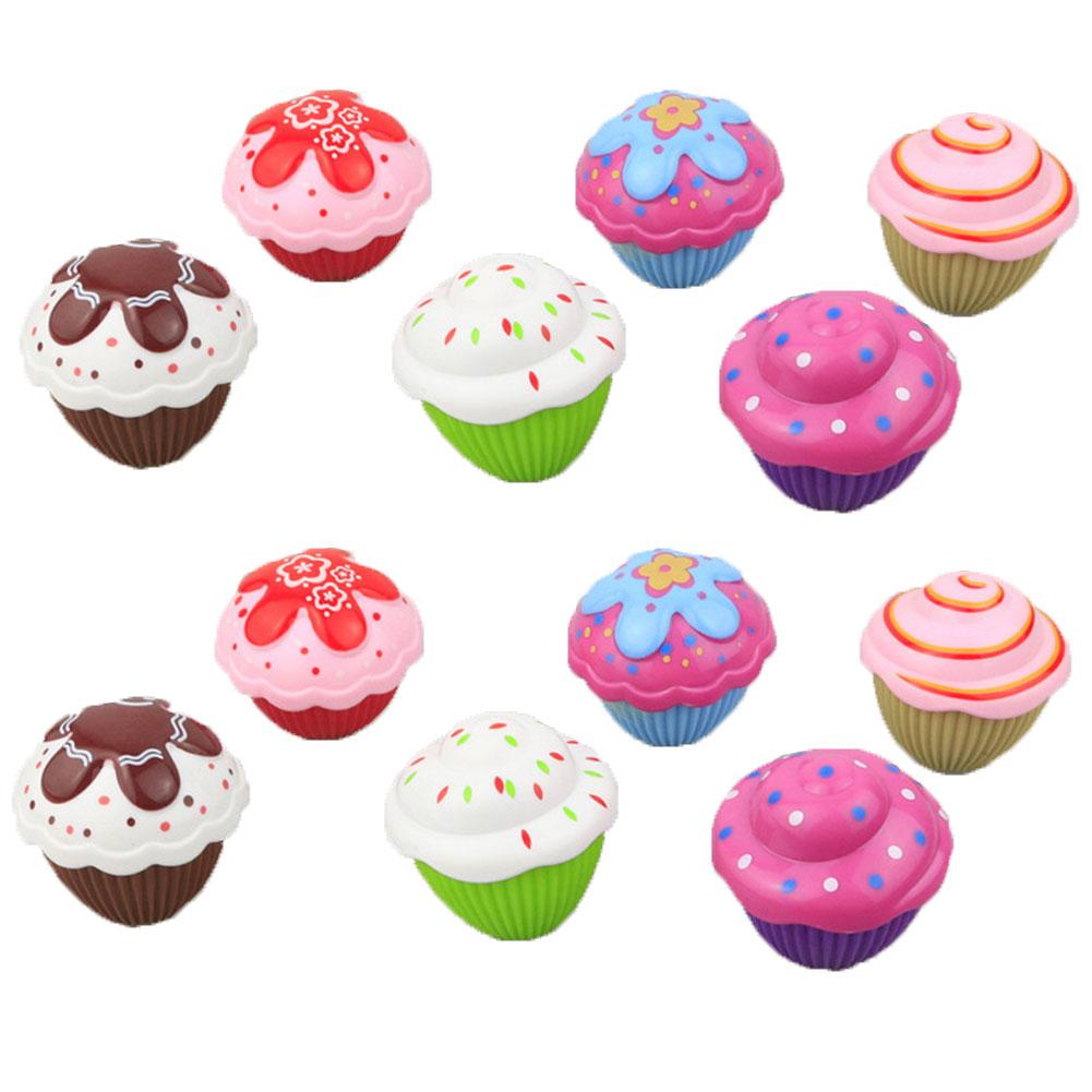 1Set Mini Beautiful Cake Doll Toy Surprise Cupcake Kids Doll Toys Cartoon Lovely Cupcake Princess Doll Toys