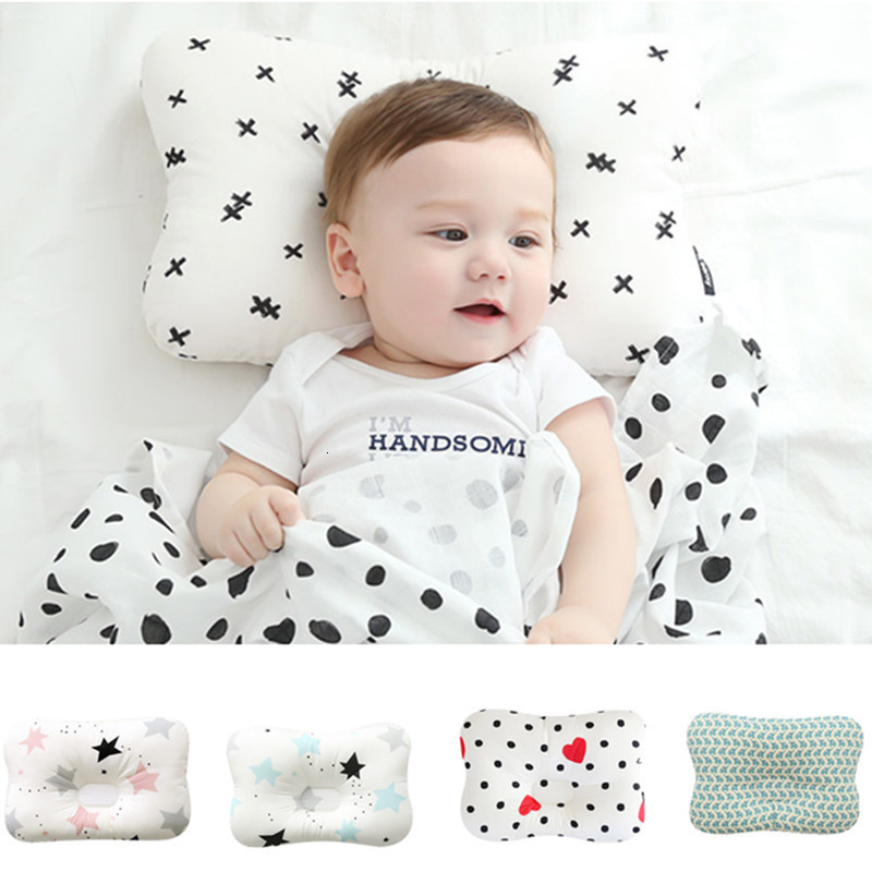 Baby Finalize Pillow Newborn Head Protection Defence Pillows Infant Bebe Girls Boys Nursing Pillows Child Ventilation Pillow