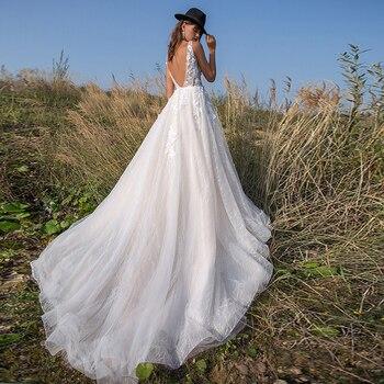 Robe Mariage Bohème Romantique Bonnie