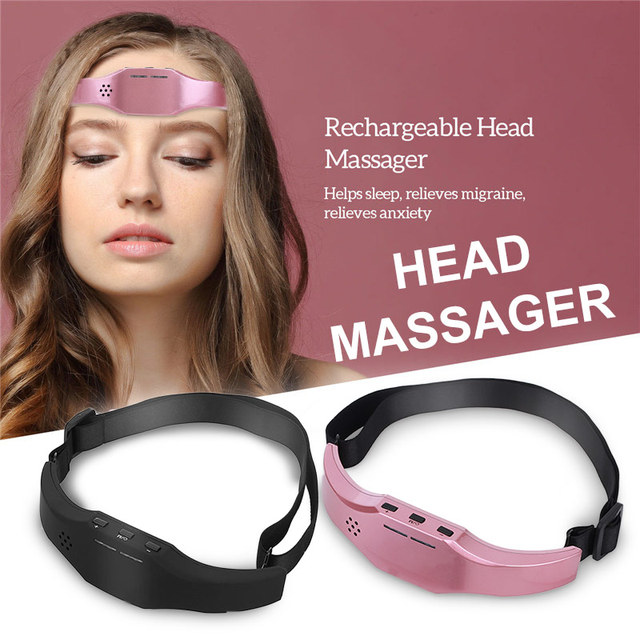 Brain Relaxation Low Frequency Pulse  Improve Sleep Health Stress Relief Brain Massager Stimulator EMS Head Massager Forehead 1