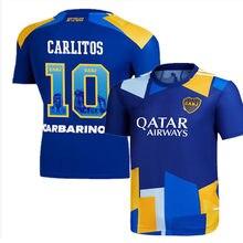NUEVA CASA 2021/22 Boca camisa tercer CARLITOS ABILA Tévez MARADONA MOURA ABILA DE ROSSI SALVIO CARLITOS MARADONA DE calidad superior