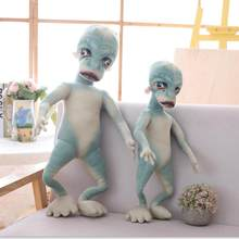 Jouets doux en forme d'et, poupées en peluche d'alien