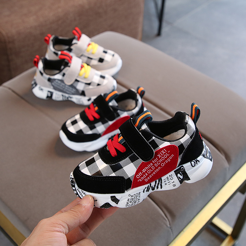 2019 Autumn Children Shoes Boys Girls Sport Shoes Breathable Infant Shoes Sneakers Non-slip Casual Kids Shoes Fashion