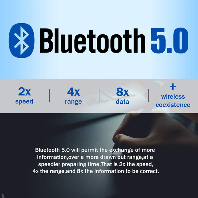 USB Bluetooth 5.0 Bluetooth Adapter Receiver 5.0 Bluetooth Dongle 5.0 4.0 Adapter for PC Laptop 5.0 BT Transmitter 2