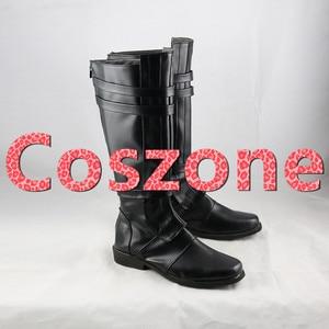 Image 4 - AnakinSkywalker czarne buty Cosplay buty Halloween karnawał Cosplay kostium akcesoria