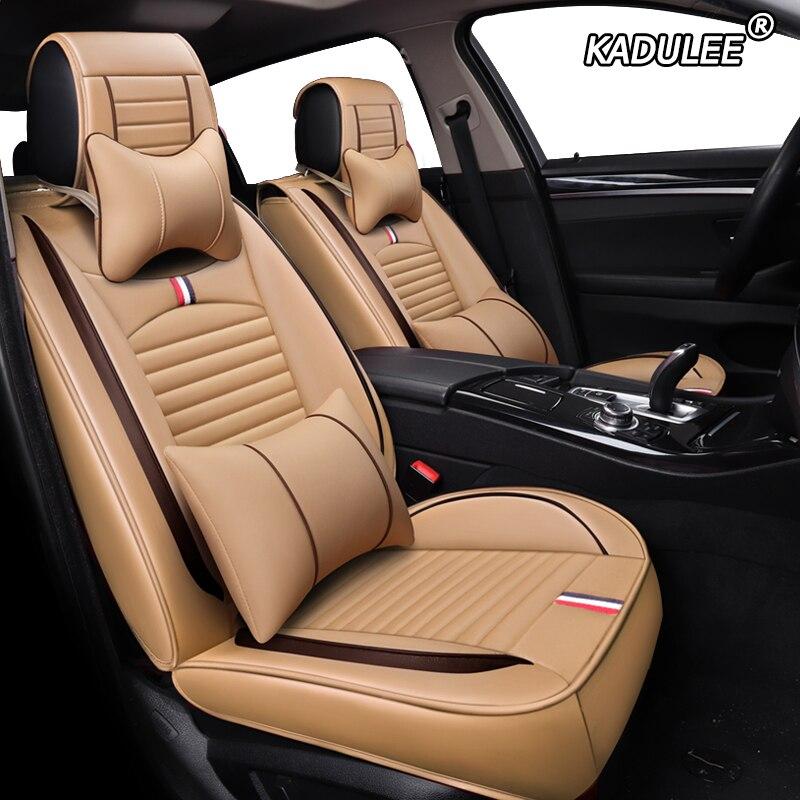 Housses de siège Auto en cuir synthétique polyuréthane Auto pour toyota prius premio geely boyue geely em grand ec7 hyundai grand i10 i20 i30 coussin de siège de voiture